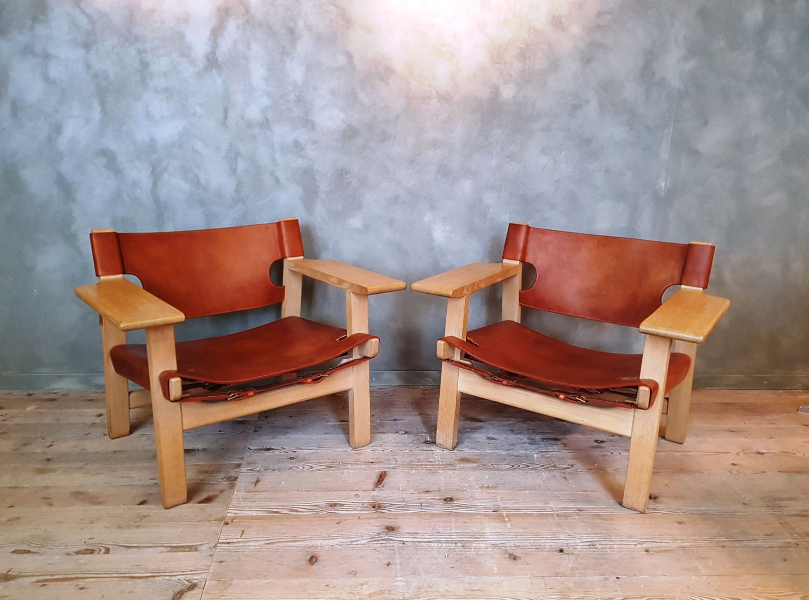 Spanish Chair by B¸rge Mogensen for Frederica 1950s for sale at