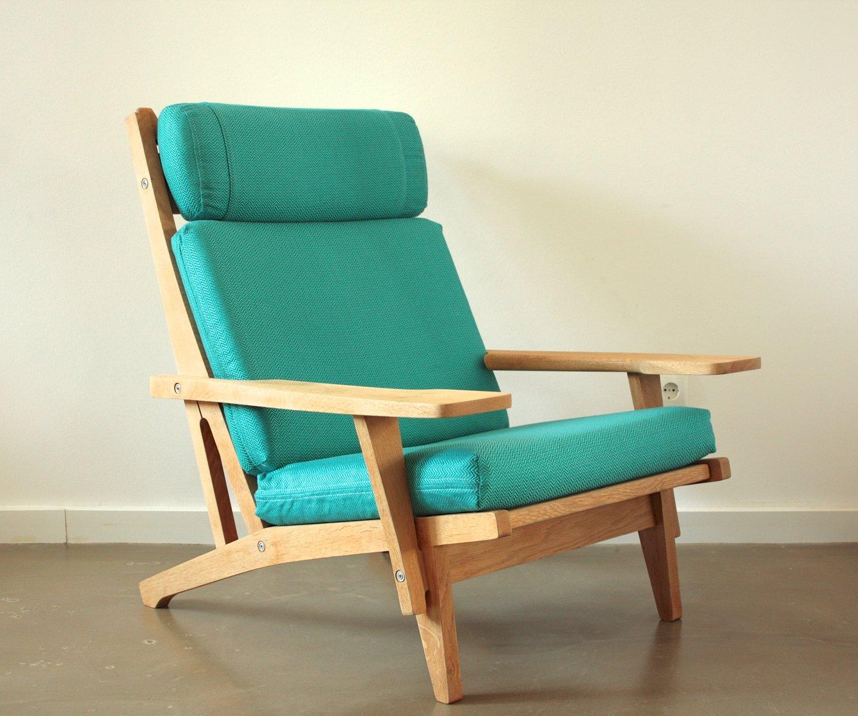 vintage ge 375 sessel von hans j wegner f r getama bei. Black Bedroom Furniture Sets. Home Design Ideas