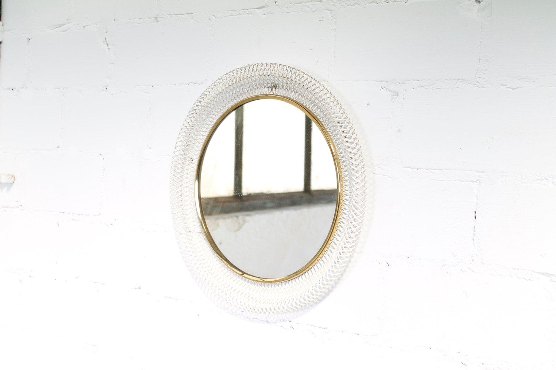 runder franz sischer wandspiegel 1950er bei pamono kaufen. Black Bedroom Furniture Sets. Home Design Ideas