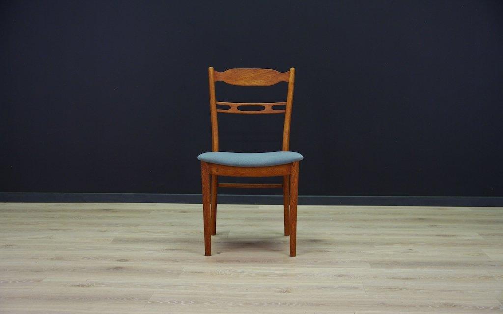 d nische mid century st hle 4er set bei pamono kaufen. Black Bedroom Furniture Sets. Home Design Ideas