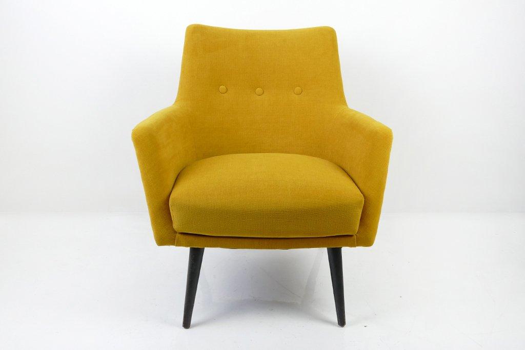 gelber ungarischer mid century sessel 1960er bei pamono. Black Bedroom Furniture Sets. Home Design Ideas