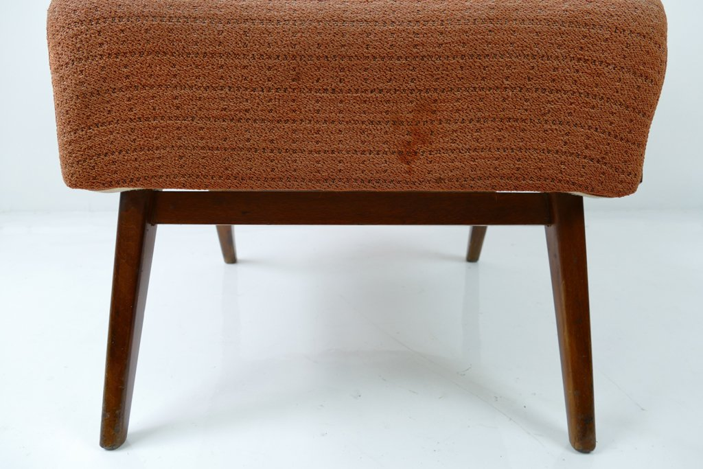 mid century sessel in orange 1960er bei pamono kaufen. Black Bedroom Furniture Sets. Home Design Ideas