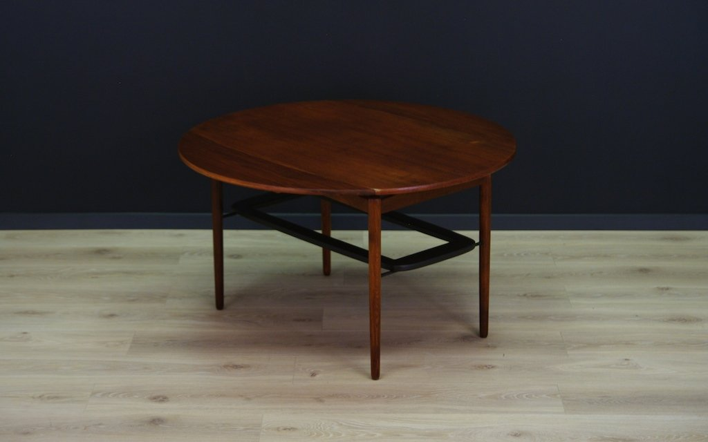 Vintage Danish Coffee Table In Teak For Sale At Pamono
