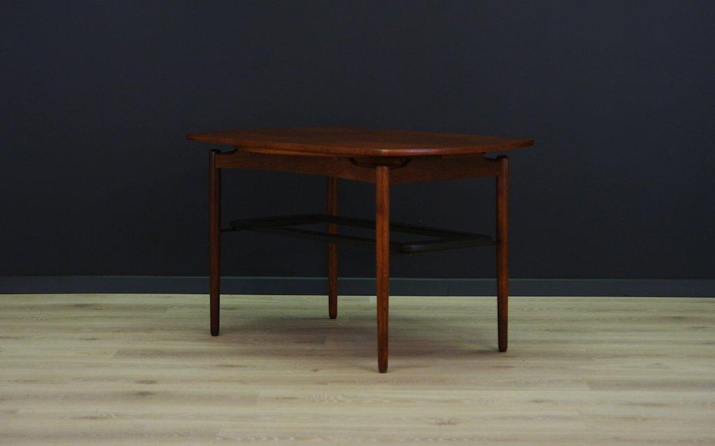 Vintage Danish Coffee Table In Teak
