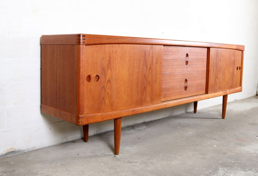 vintage sideboard by h w klein for bramin for sale at pamono. Black Bedroom Furniture Sets. Home Design Ideas