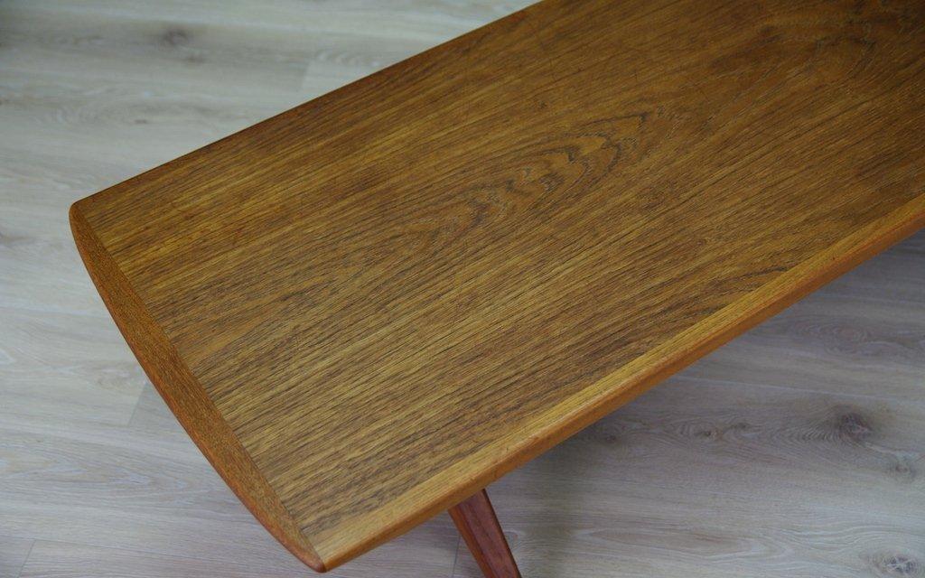 Danish Vintage Teak Coffee Table For Sale At Pamono