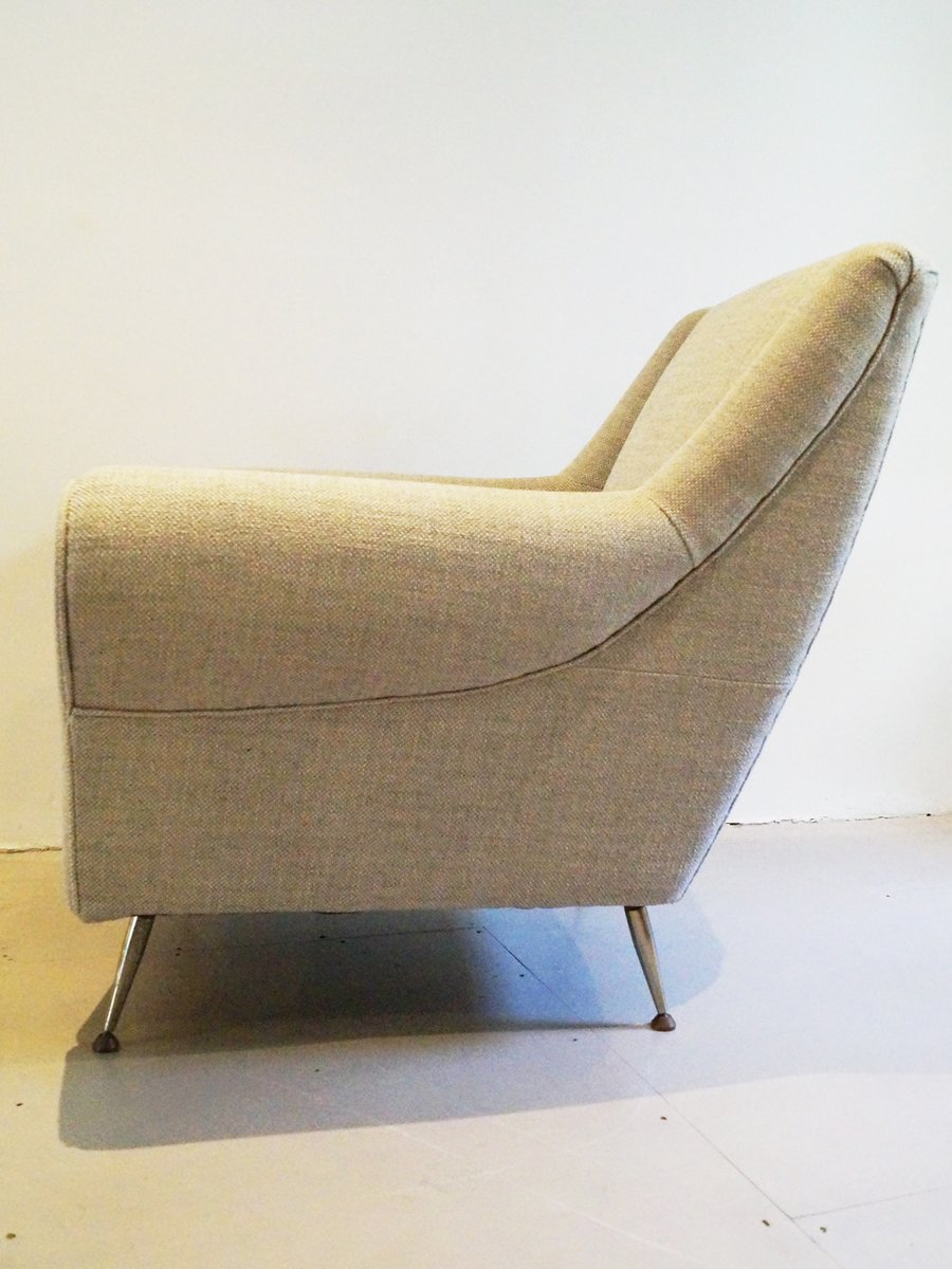 Italienische sessel von gigi radice minotti 1950er 2er for Italienische sessel design