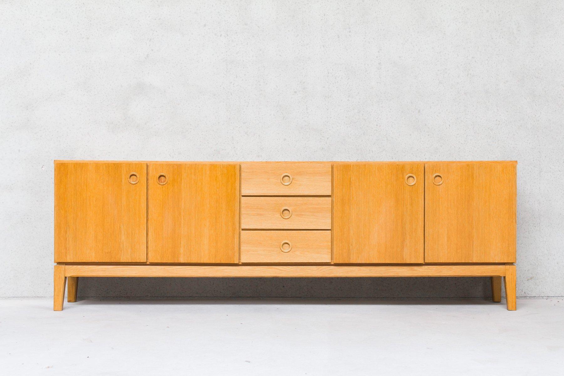 Skandinavisches vintage sideboard mit schubladen t ren for Skandinavisches sideboard