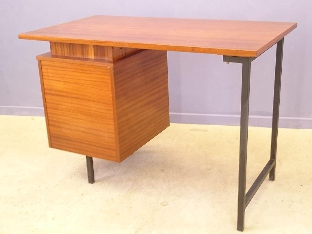 vintage cm 172 schreibtisch von pierre paulin f r thonet. Black Bedroom Furniture Sets. Home Design Ideas