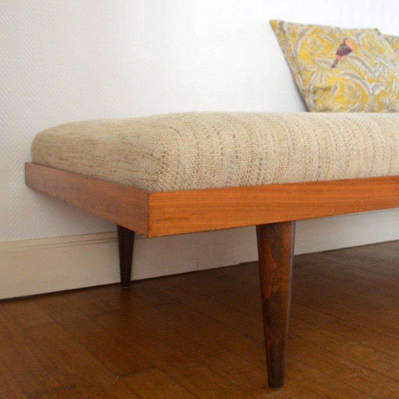 schlafsofa mit 4 kissen 1960er bei pamono kaufen. Black Bedroom Furniture Sets. Home Design Ideas