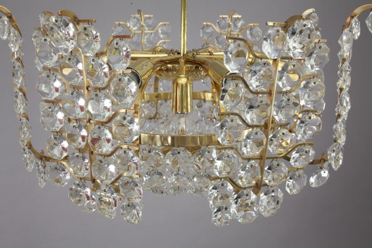 Lustre en cristal de bakalowits s hne autriche 1950 en for Lustre en solde