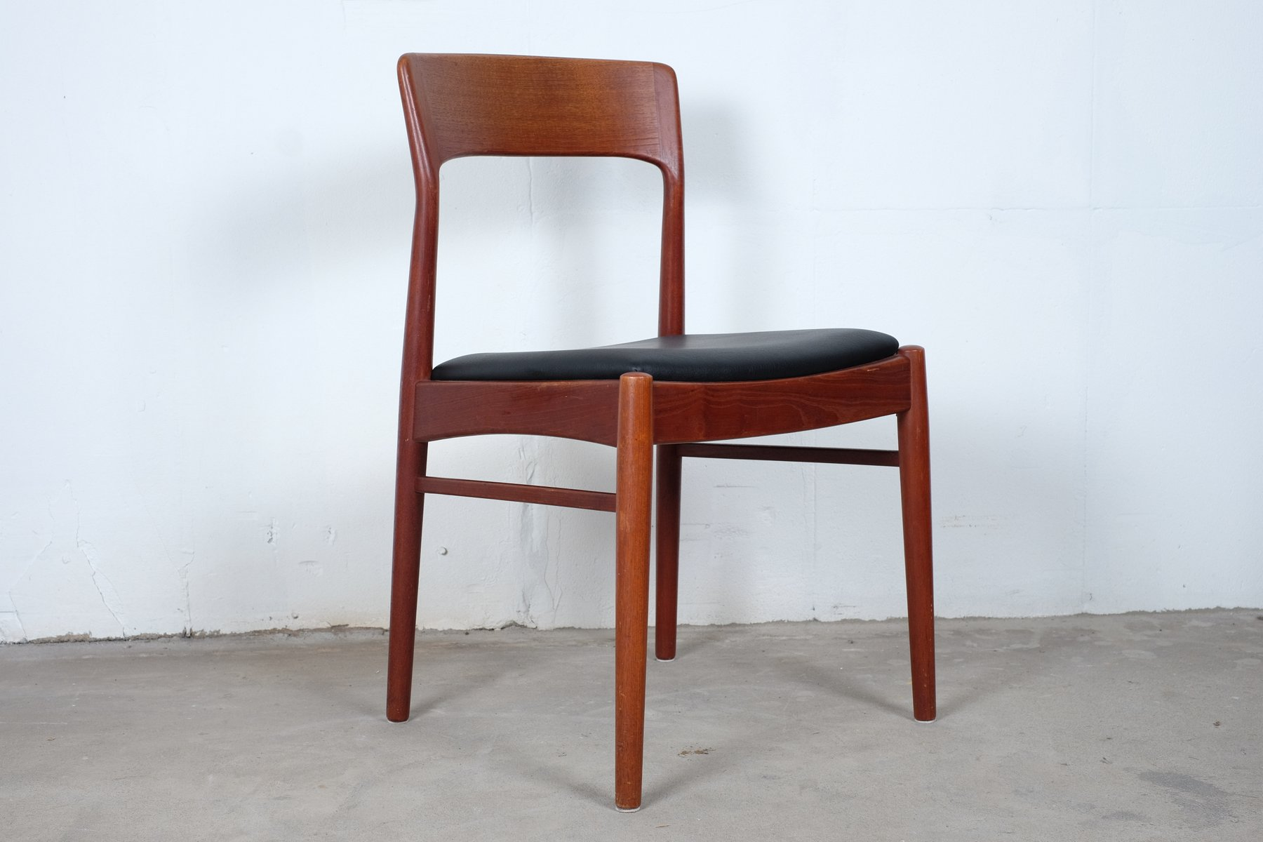 Mid century rosewood dining chairs by kai kristiansen for korup stolefabrik set of 6 for sale - Kai kristiansen chairs ...
