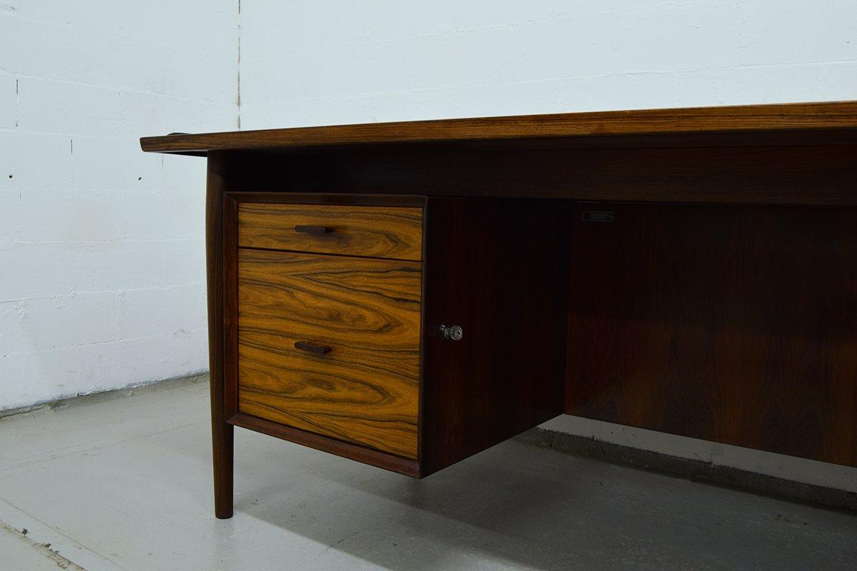 mid century schreibtisch sideboard von arne vodder f r sibast bei pamono kaufen. Black Bedroom Furniture Sets. Home Design Ideas
