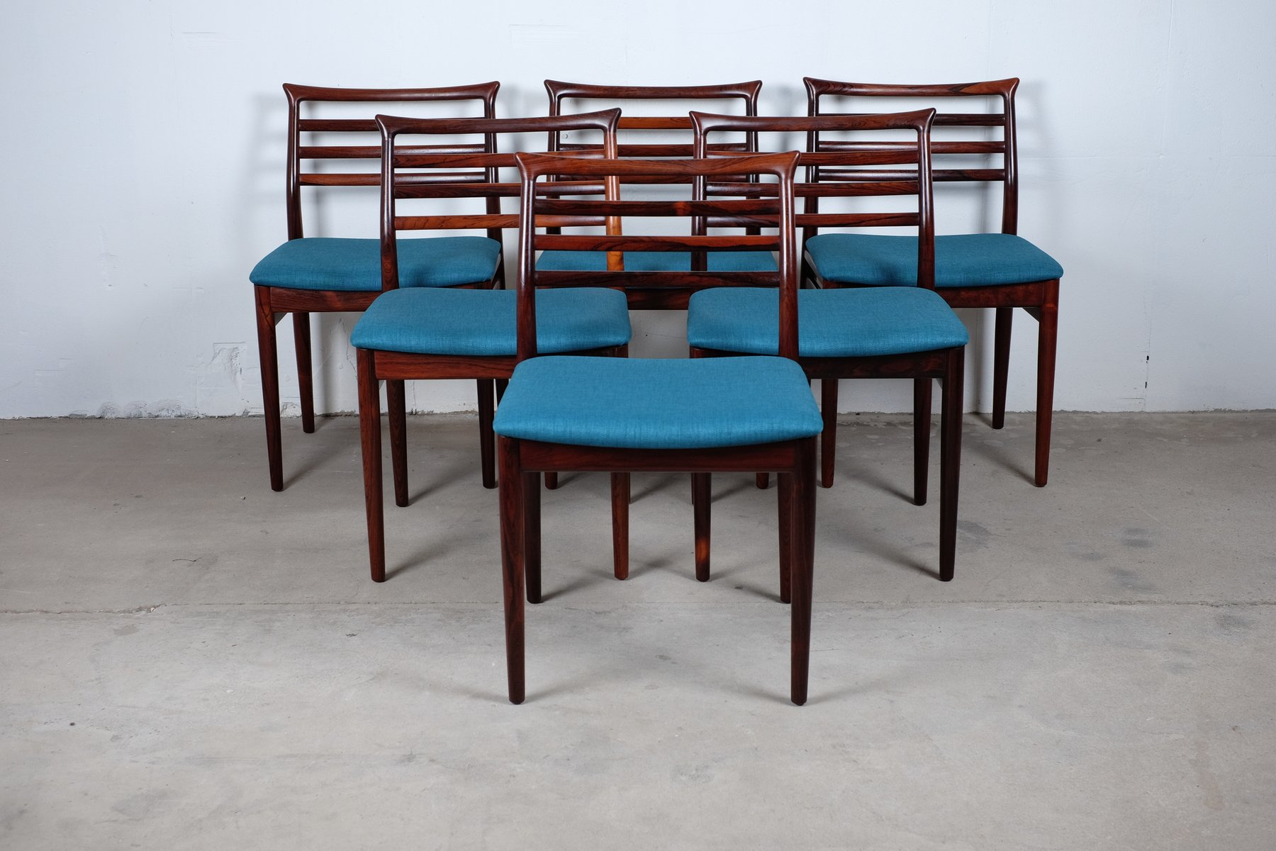 Mid Century Dining Chairs by Erling Torvits for Sor¸ Stolefabrik