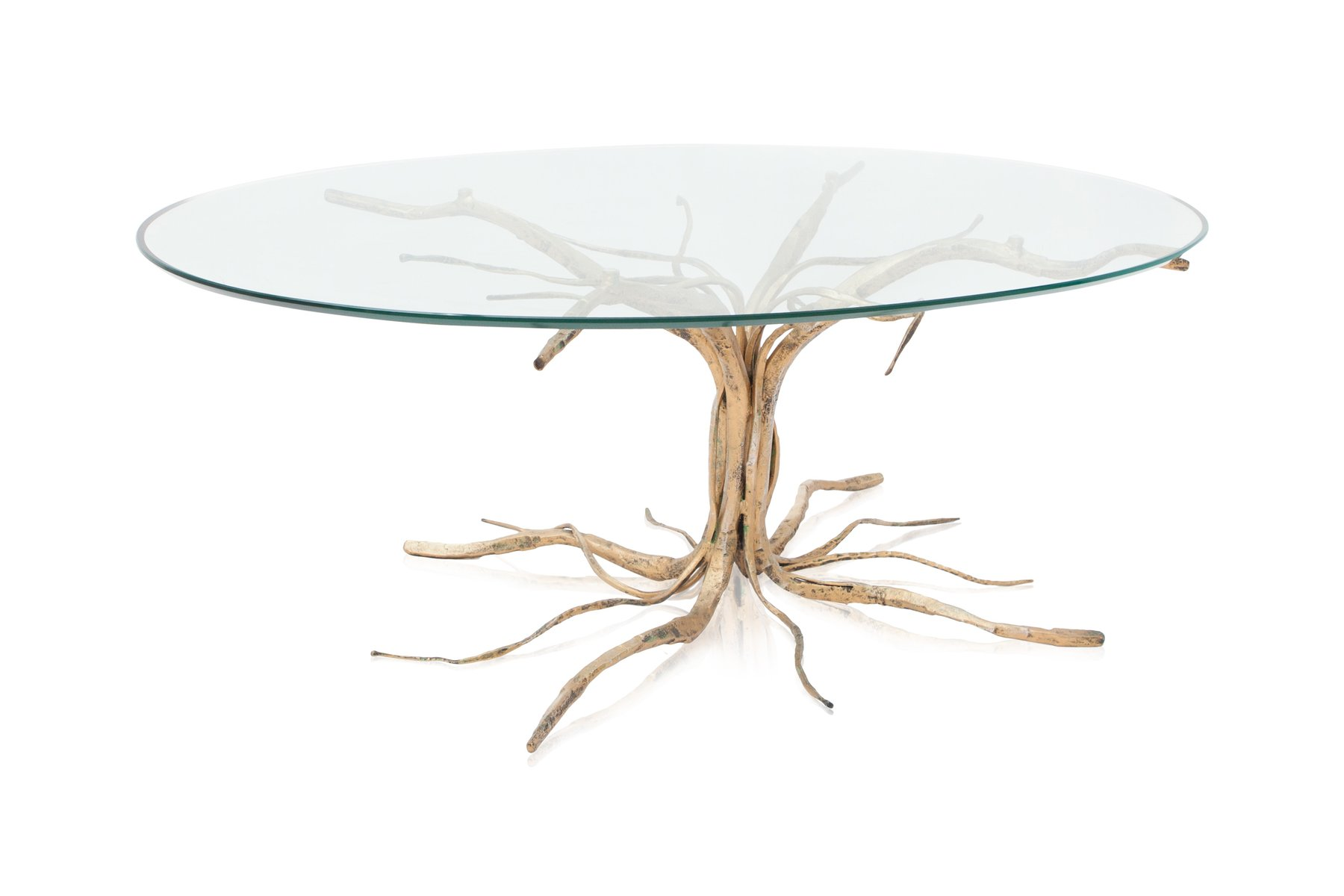 Bronze Coffee Table by Salvino Marsura 1959 for sale at Pamono