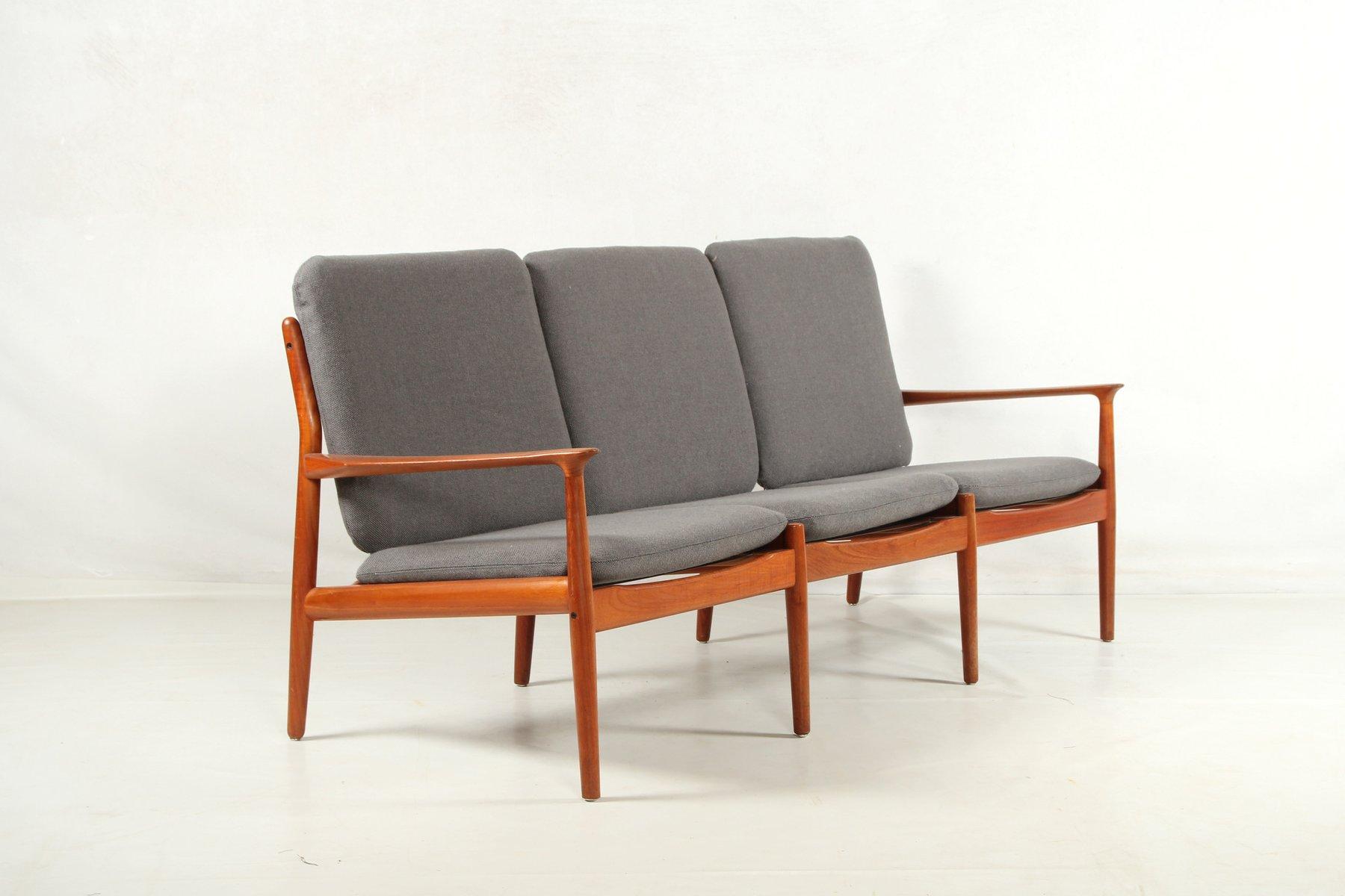 vintage teak sofa by grete jalk for glostrup for sale at. Black Bedroom Furniture Sets. Home Design Ideas