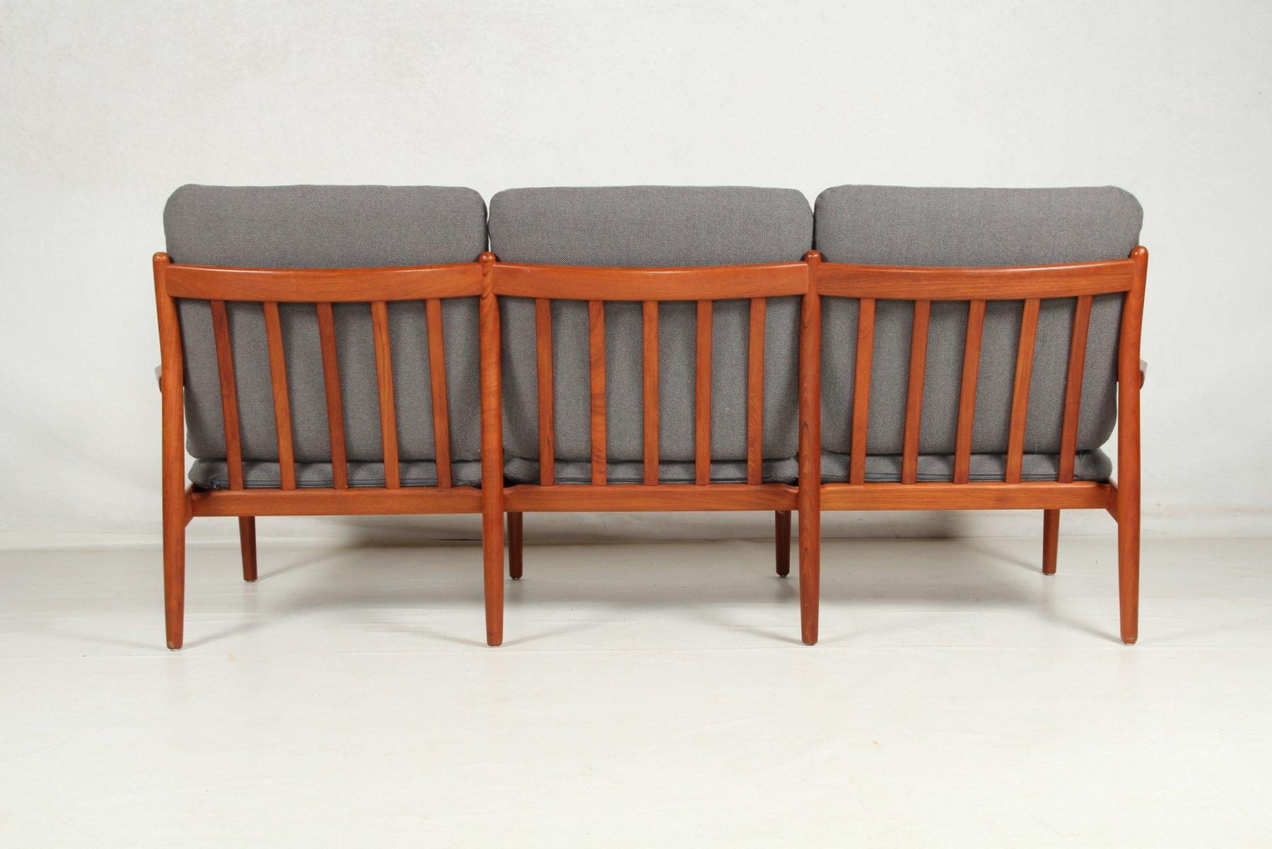 Vintage Teak Sofa by Grete Jalk for Glostrup for sale at Pamono