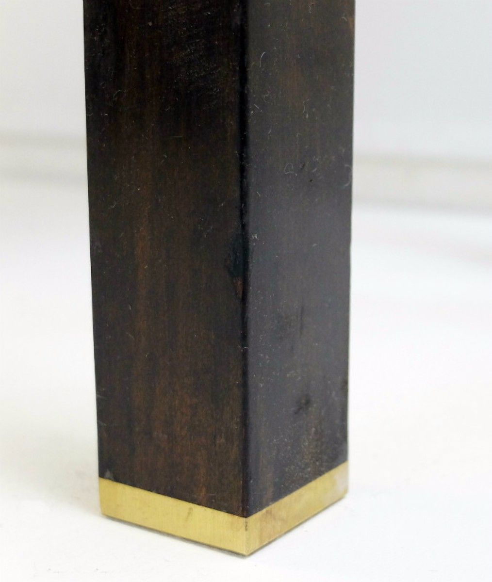 vintage granit holz konsolentisch bei pamono kaufen. Black Bedroom Furniture Sets. Home Design Ideas