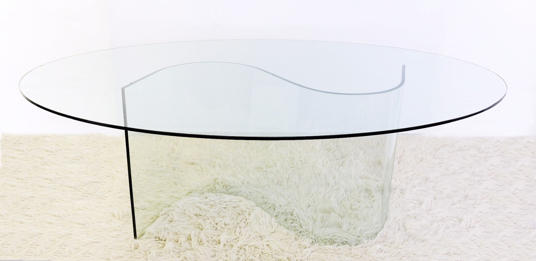 Glass Dining Table From Ligne Roset