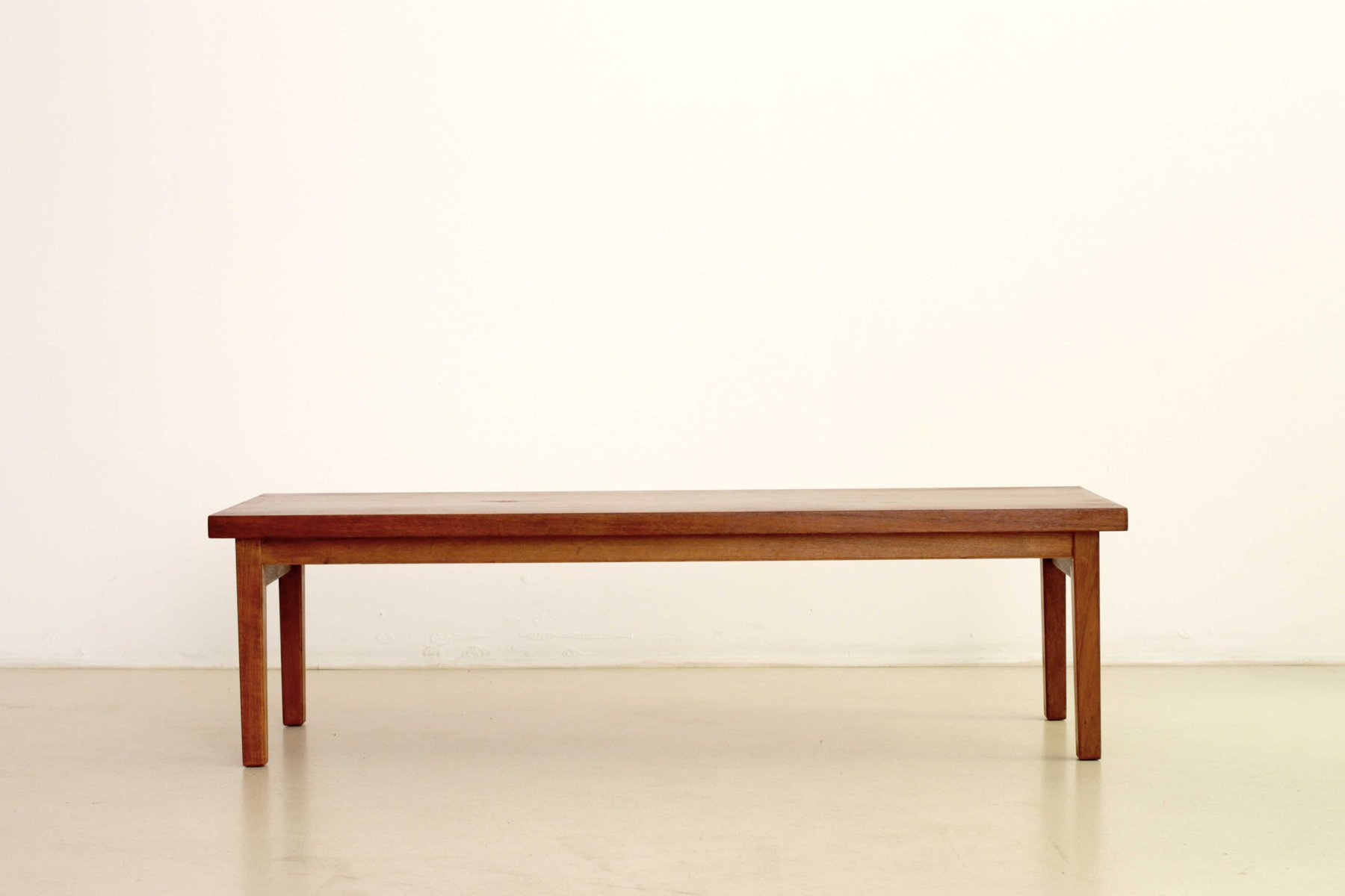 Rectangular Scandinavian Teak Coffee Table 1950s for sale at Pamono