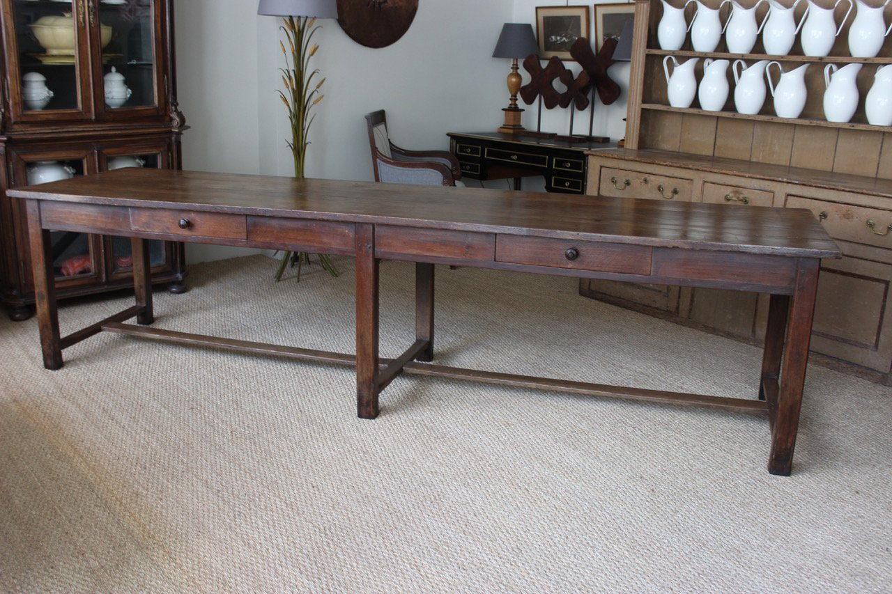 Antique farmhouse table - Antique French Farmhouse Table