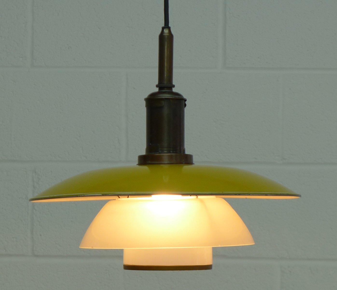 vintage pendant lamp by poul henningsen for louis poulsen for sale at pamono. Black Bedroom Furniture Sets. Home Design Ideas