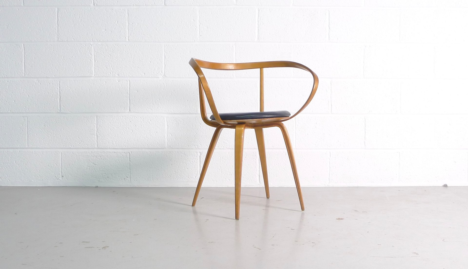 Model 5891 Pretzel Chair by George Nelson for Herman Miller 1950s