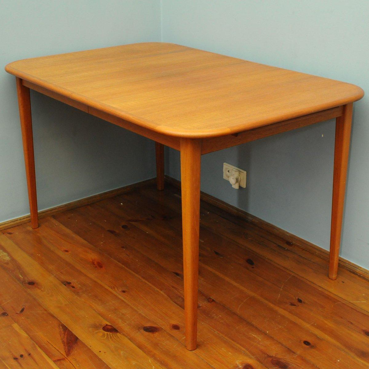 gro er ausziehbarer esstisch 1960er bei pamono kaufen. Black Bedroom Furniture Sets. Home Design Ideas
