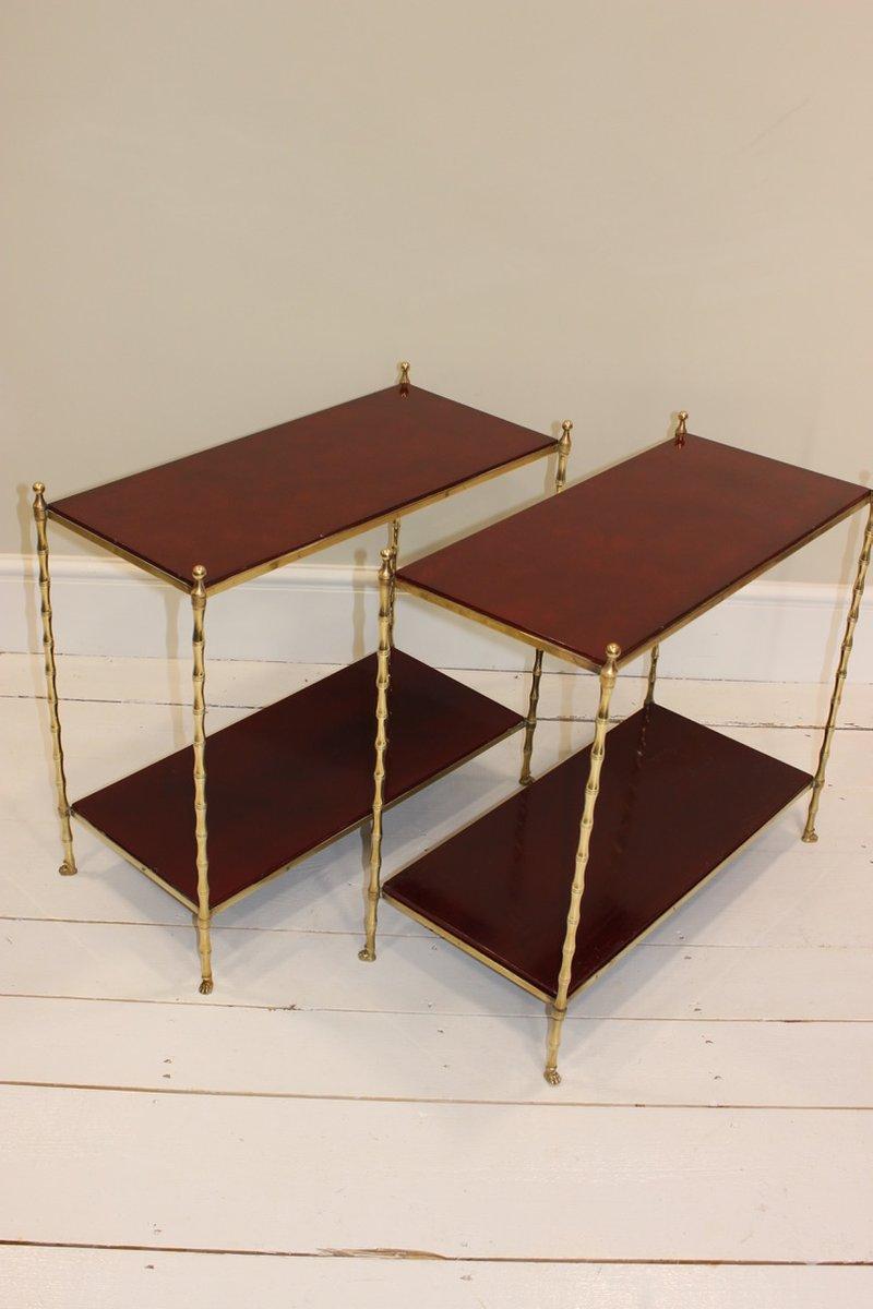 Mid century beistelltische 2er set bei pamono kaufen for 3 beistelltische