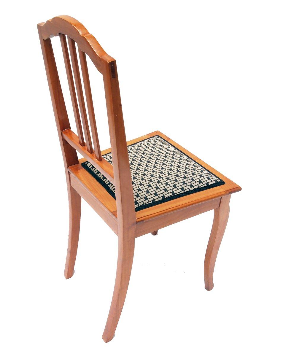 art deco kirschholz stuhl bei pamono kaufen. Black Bedroom Furniture Sets. Home Design Ideas