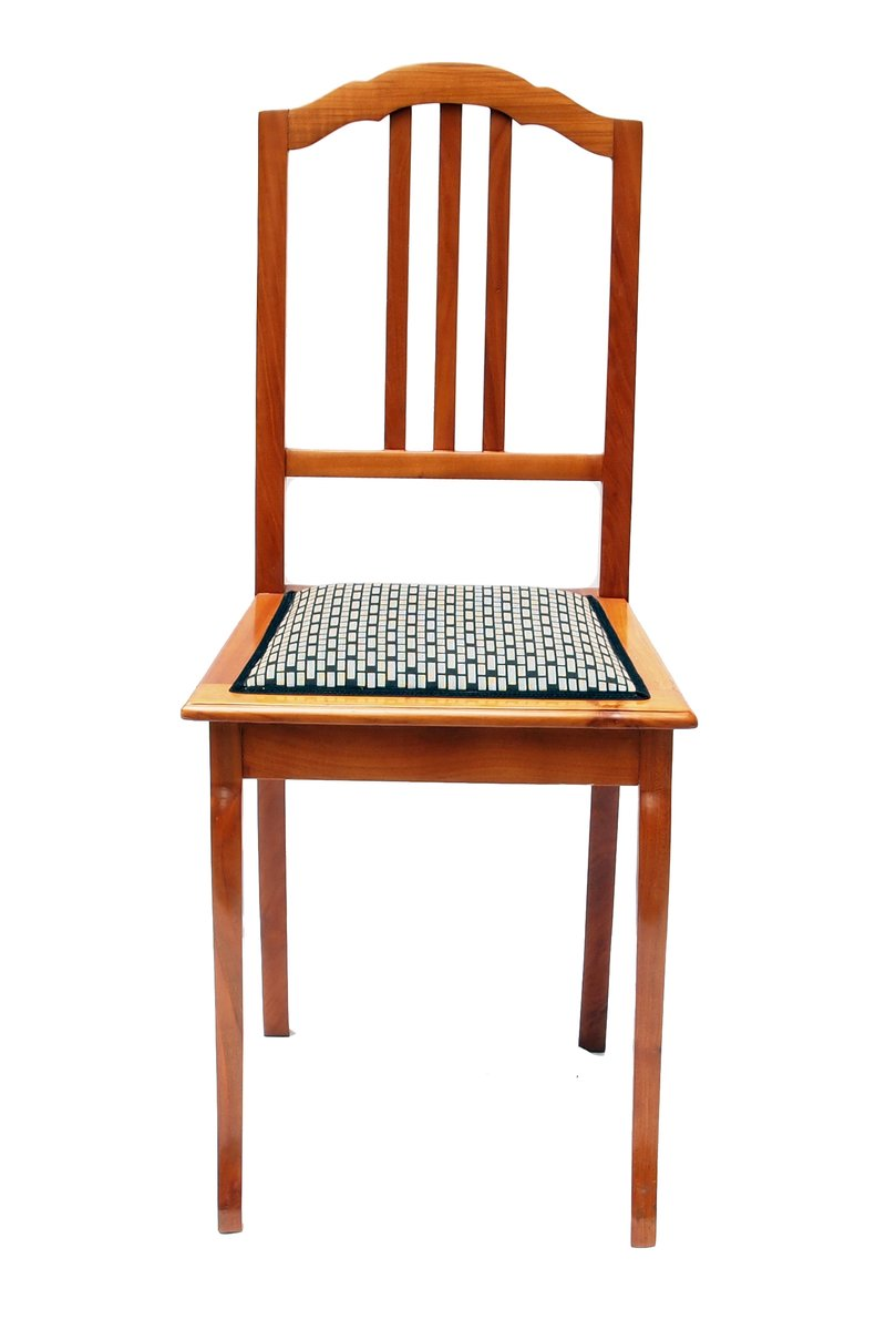 Art deco cherry wood side chair for sale at pamono for Side chairs for sale
