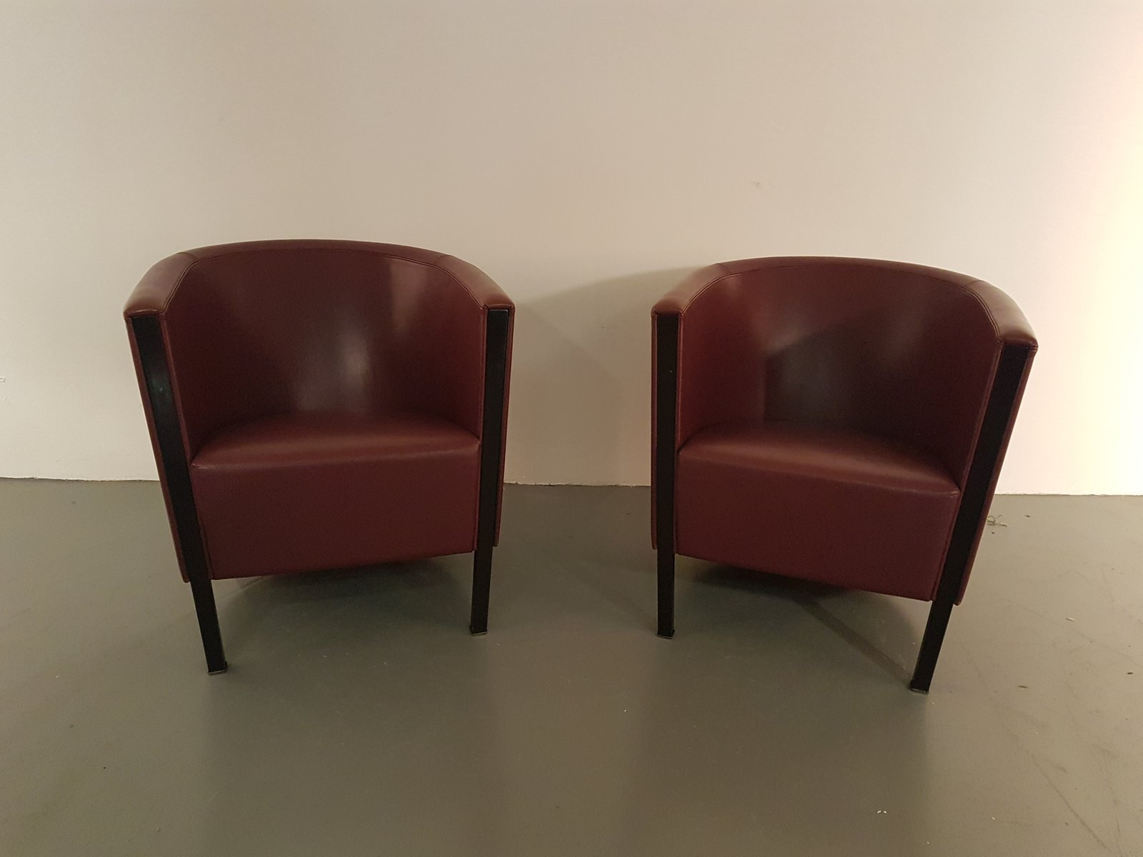 italian club lounge chairs from moroso 1993 set of 2 for sale at pamono. Black Bedroom Furniture Sets. Home Design Ideas