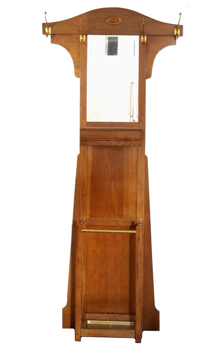 vintage jugendstil garderobe bei pamono kaufen. Black Bedroom Furniture Sets. Home Design Ideas