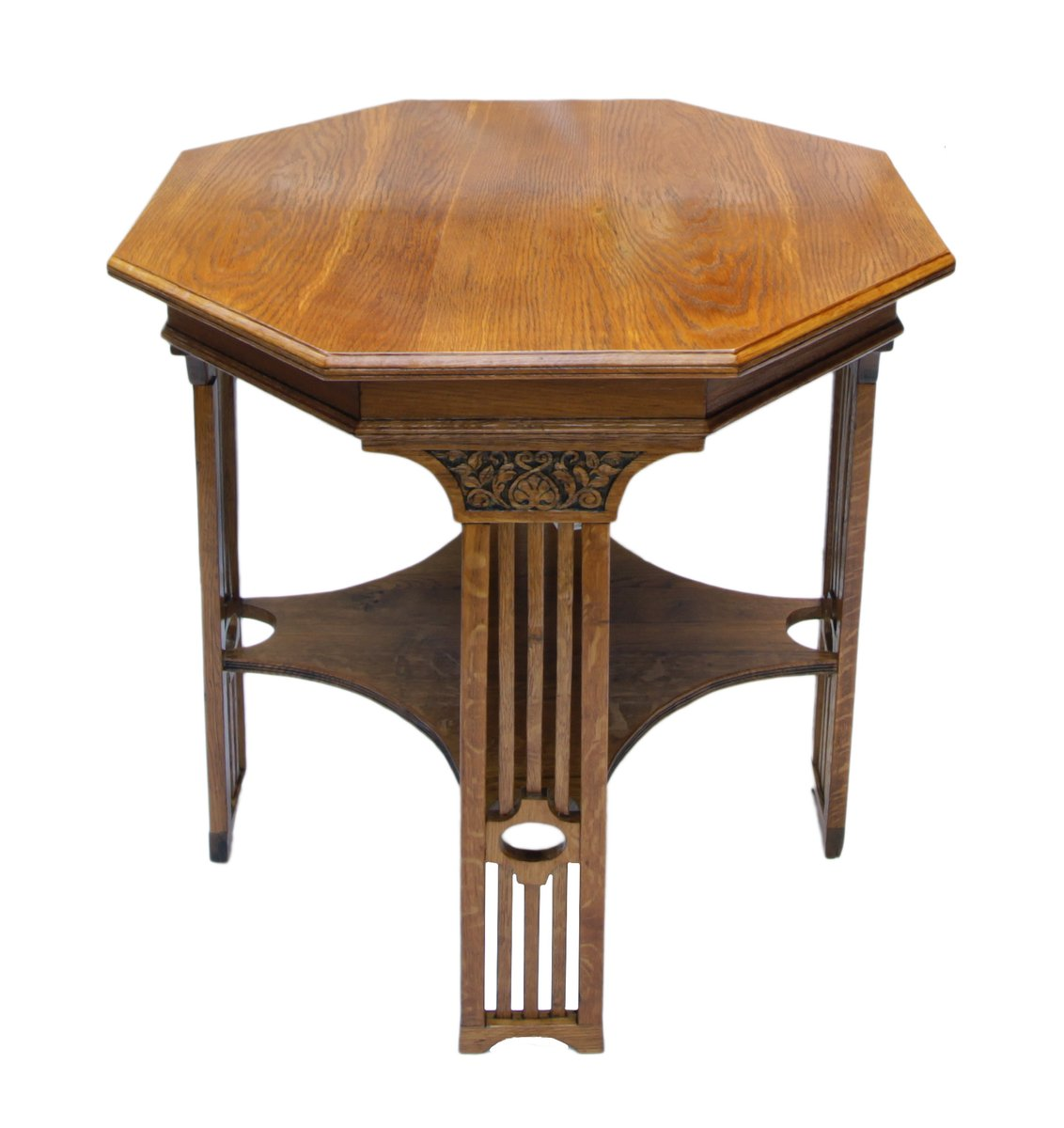 art nouveau oak occasional table for sale at pamono - art nouveau oak occasional table