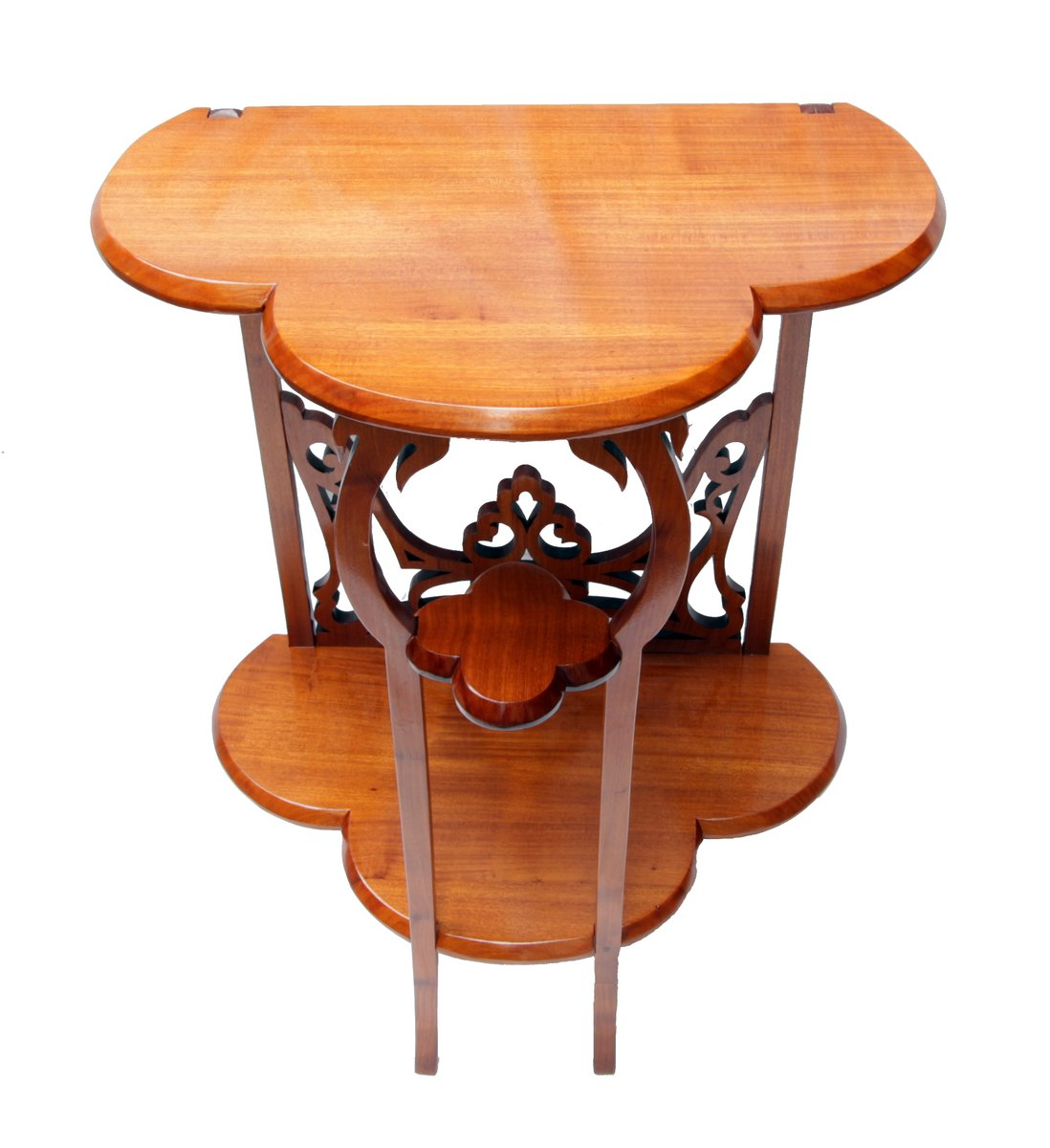 Vintage small console side table for sale at pamono for Retro side table
