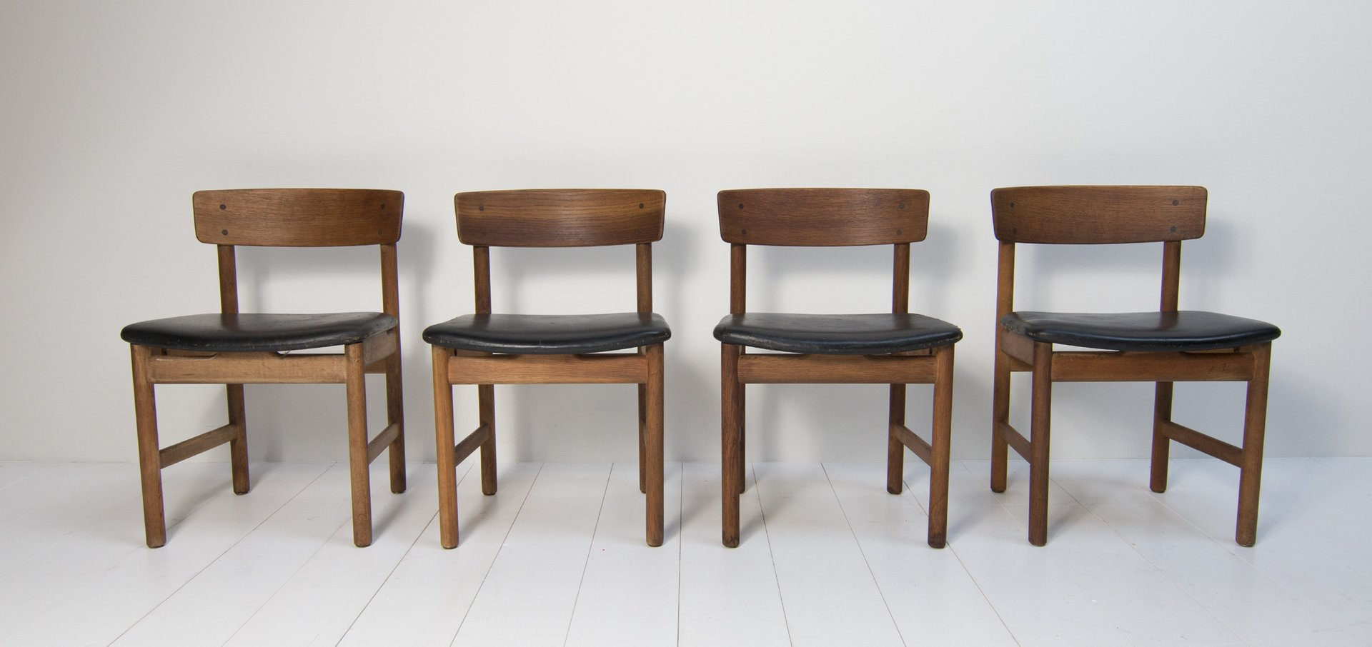 Dining Chairs By B Rge Mogensen For Fredericia Furniture