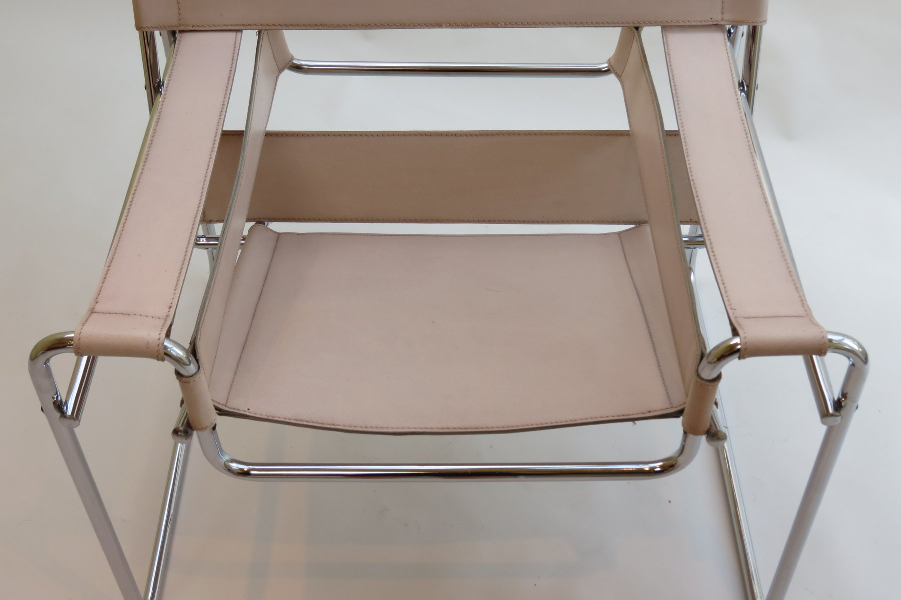Vintage Wassily Chair By Marcel Breuer For Gavina 1960s For Sale At Pamono
