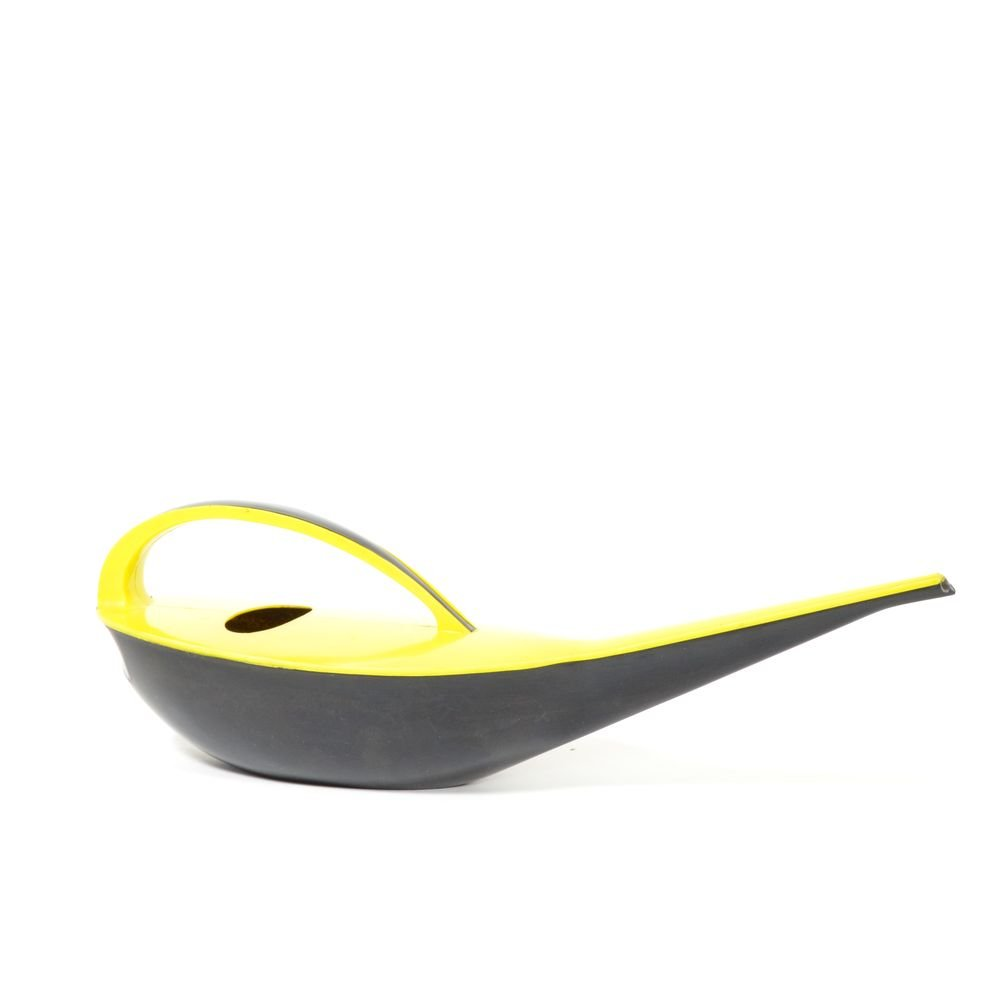 vintage kunststoff gie kanne in gelb schwarz bei pamono kaufen. Black Bedroom Furniture Sets. Home Design Ideas