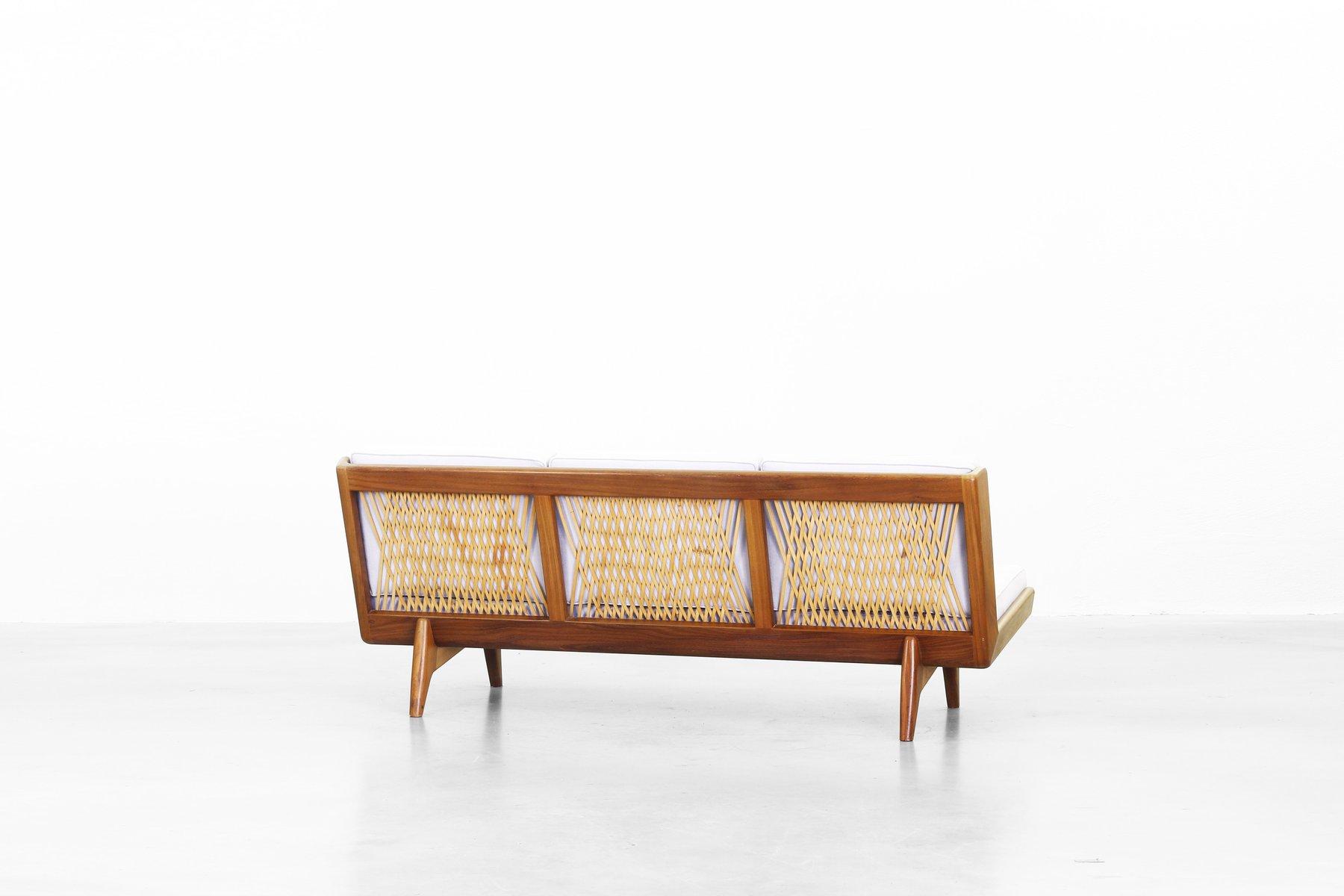 Hellgraues Vintage Sofa Von Carl Gustaf Hiort F R Af Orn S Bei Pamono Kaufen
