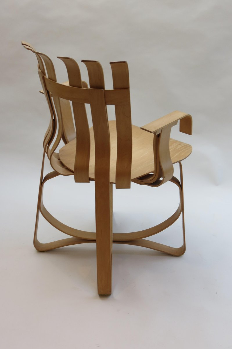 Hat Trick Chair By Frank Gehry For Knoll USA 1992 For Sale At Pamono