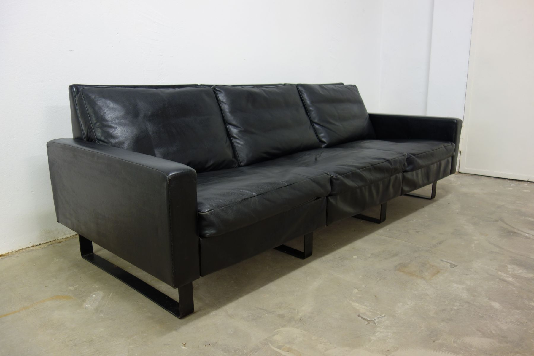 conseta sofa by f w m ller for cor 1960s for sale at pamono. Black Bedroom Furniture Sets. Home Design Ideas