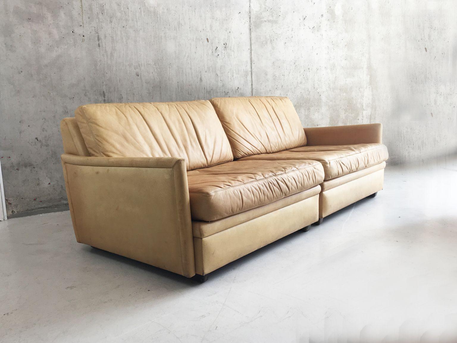 modulares schwedisches 2 sitzer sofa von dux 1970er bei. Black Bedroom Furniture Sets. Home Design Ideas
