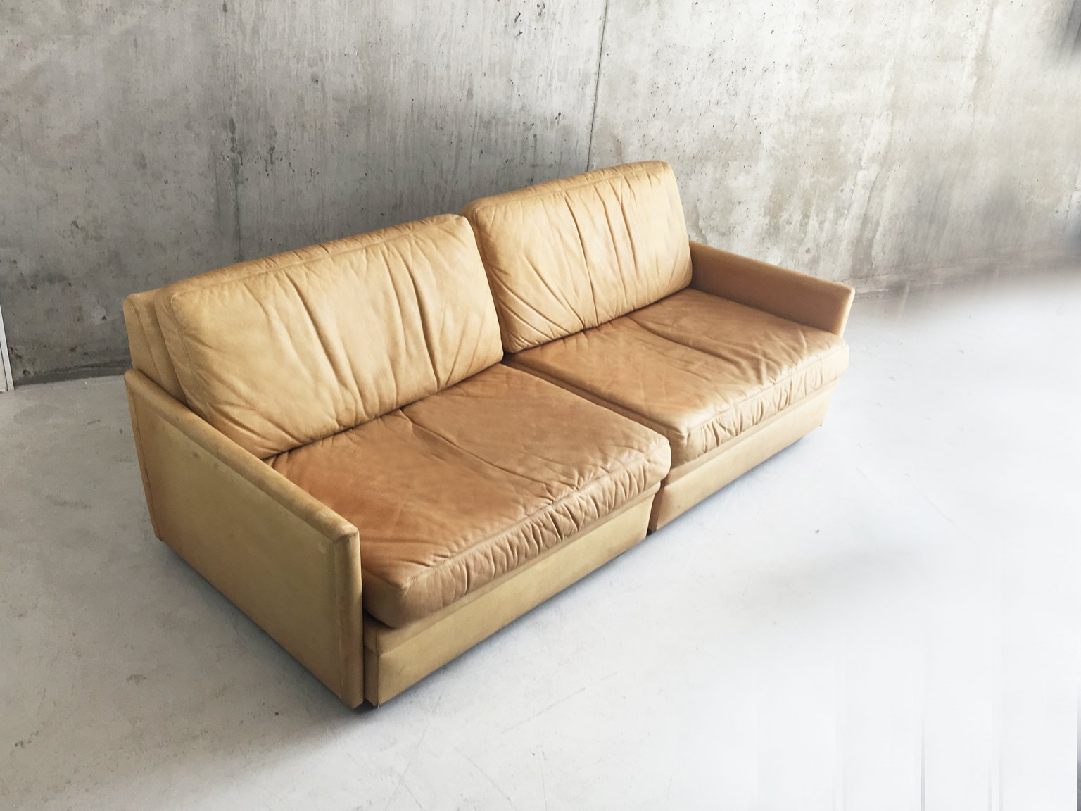 Swedish modular 2 seater sofa from dux 1970s for sale at for Swedish sofa
