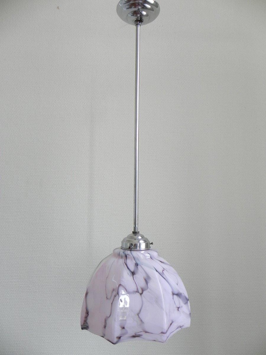Art deco belgium pendant lamp 1930s for sale at pamono - Deco vintage belgique ...