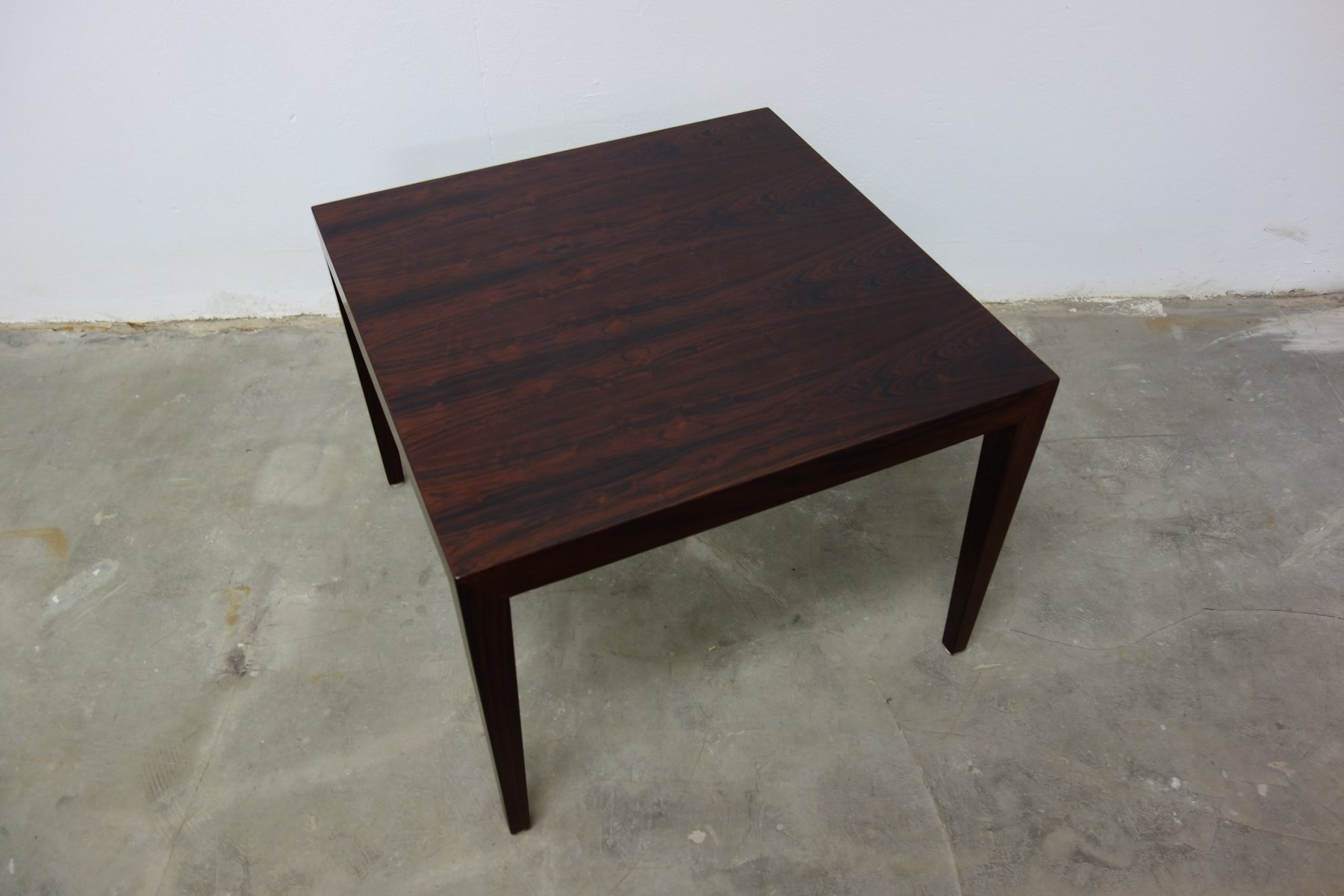 Mid Century Danish Coffee Table in Rosewood by Severin Hansen for
