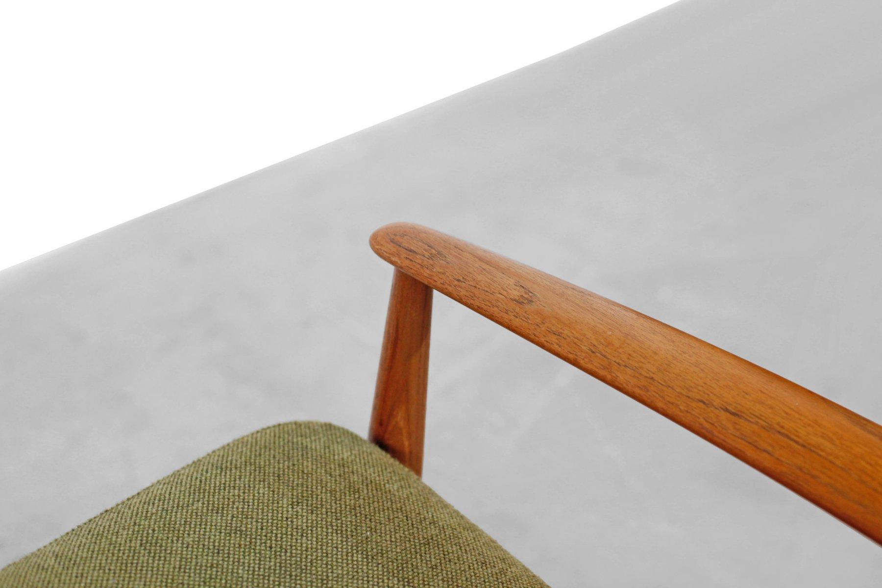 nr 118 teak sessel von grete jalk f r france s n 1950er bei pamono kaufen. Black Bedroom Furniture Sets. Home Design Ideas