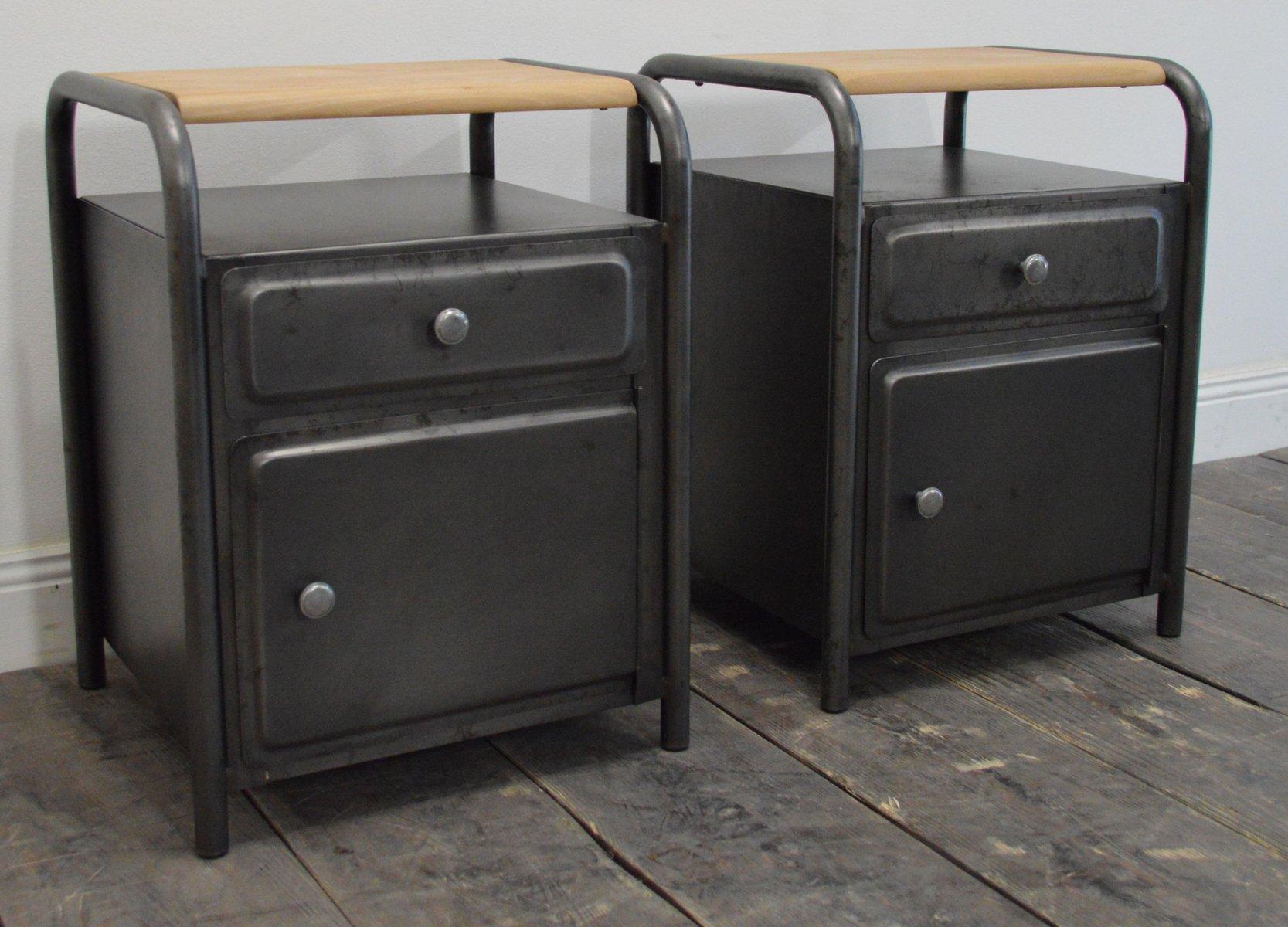 Vintage Bedside Tables for sale at Pamono