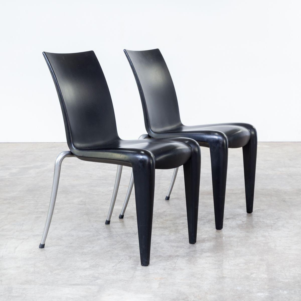 louis 20 st hle von philippe starck f r vitra 1990er 4er set bei pamono kaufen. Black Bedroom Furniture Sets. Home Design Ideas