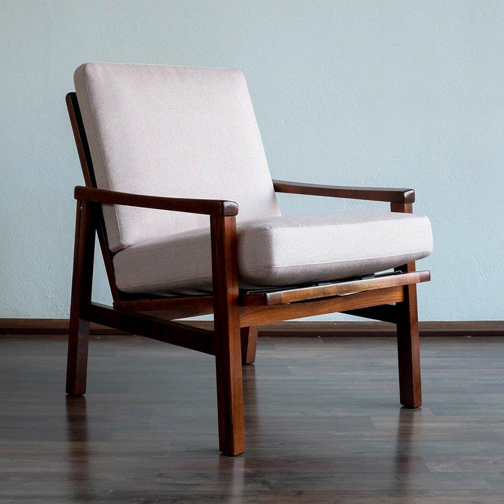 vintage rosa sessel von ton 1960er bei pamono kaufen. Black Bedroom Furniture Sets. Home Design Ideas