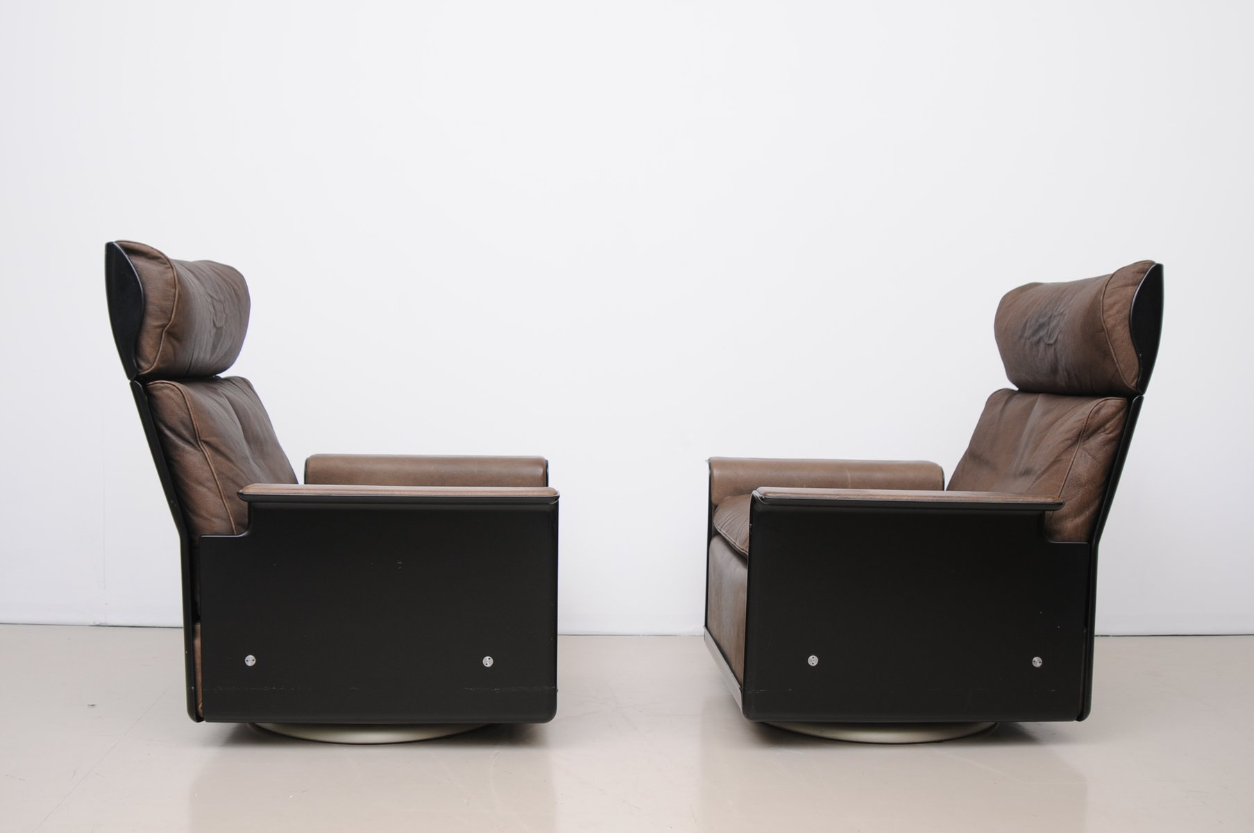 Mid Century 620 High Back Armchair & Ottoman by Dieter Rams for